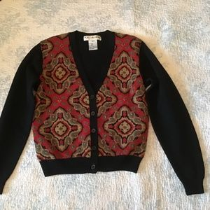 VINTAGE 100% WOOL SWEATER BY JH COLLECTABLES W/TAG